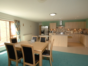 Each level also has a fully fitted kitchen with dining area.