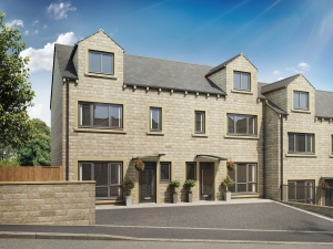 The Garrigill - Spacious 3 bedroom home with open plan light filled dining kitchen and study.