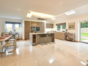 Fully integrated SieMatic kitchen at plot 14, Stocksmead