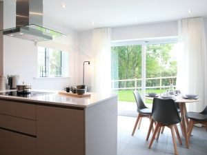 Spacious dining kitchen at Swaine Meadow