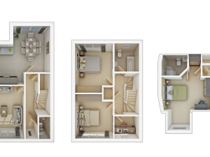 Garrigill 3D Floorplan