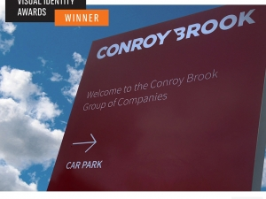 Conroy Brook branding wins international visual identity award