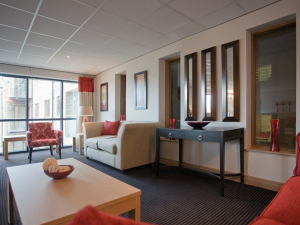Communal area at Holme Valley Court