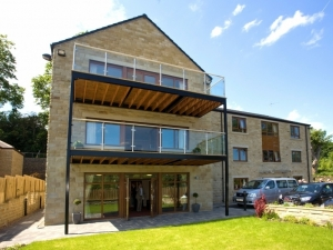 Rowan Court in Holmfirth - specialist close care unit built for Hollybank Trust