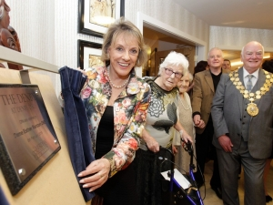 Esther Rantzen officially opened the care centre along with the Lord Mayor.