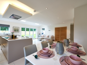 SieMatic dining kitchen at plot 14, Stocksmead