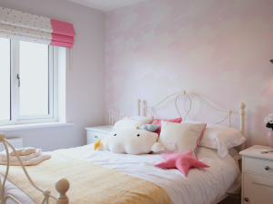 Child's bedroom in the showhome at SummerFord