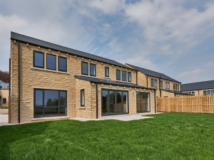 Exterior of a new home at Stocksmead