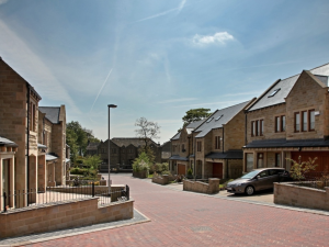 Completed development at The Willows