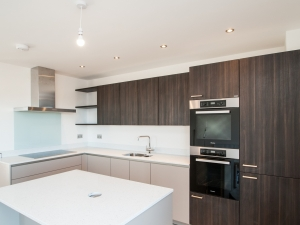 Modern, high specification kitchen at The Chase