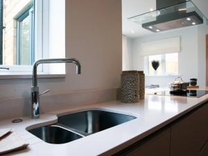Contemporary kitchen at Swaine Meadow