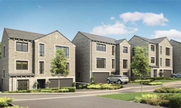 New homes - Pennine Gardens, Upperthong, Holmfirth