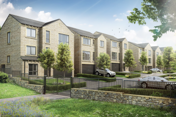 New homes at WoodNook in Denby Dale