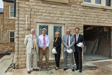 Denby Dale Care Home Reaches 'Topping Out' Milestone