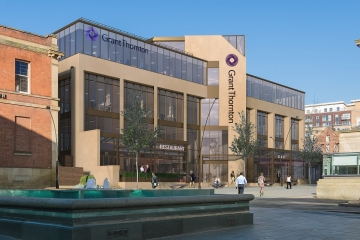 Conroy Brook appointed as main contractor for former NUM building in Sheffield