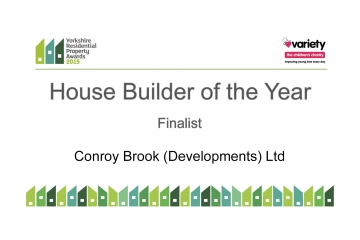 Conroy Brook finalist in Yorkshire Residential Property Awards 2015