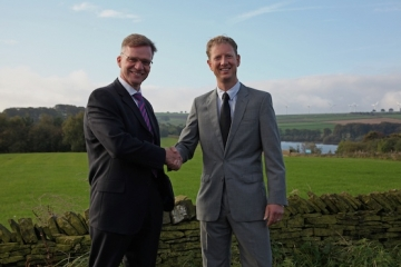 MD of Keyland Peter Garrett with Conroy Brook CEO Richard Conroy