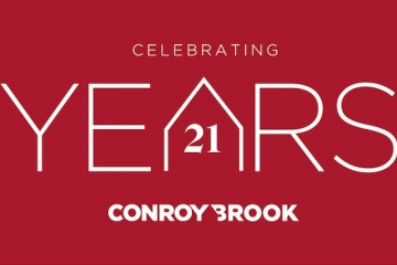 Conroy Brook celebrate 21 years of housebuilding excellence.