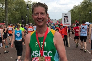 CEO Richard doubles his NSPCC target in London Marathon