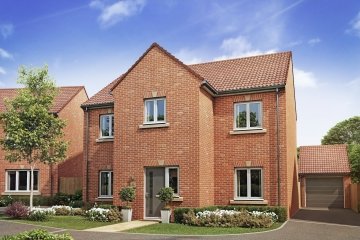 New showhome at HighFields in Clowne