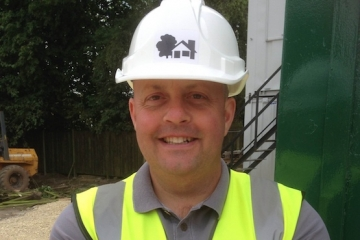 Richard Hutchinson - new site manager for Conroy Brook