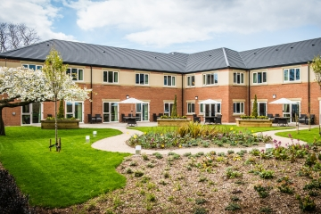 Augustus Court care centre in Garforth, Leeds