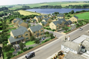 Homes at SummerFord new build development in Ingbirchworth selling fast.