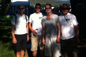 Intrepid Conroy Brook Team Raise Funds for Habitat for Humanity