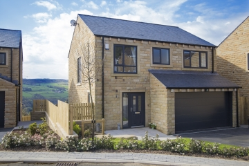 New homes at WoodNook, Denby Dale