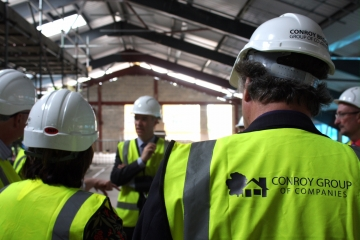 Conroy Brook - lead contractor on new multi-million pound NHS hub in Wakefield