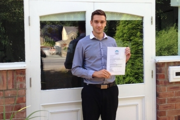 Conroy Brook QS Passes Code for Sustainable Homes Assessor Exam