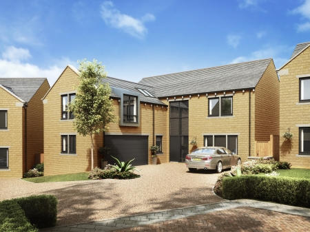 Plot 14 at Stocksmead, Stocksmoor