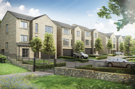 New homes at WoodNook in Denby Dale, West Yorkshire