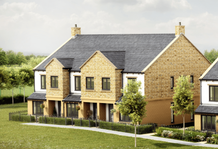 Plots 1 - 3 at The Chase in Harlow Hill, Harrogate