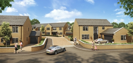 New homes in Stocksmoor from Conroy Brook