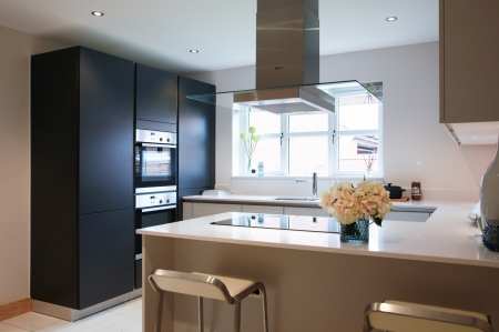 Integrated kitchen at Braeburn Mews, Bawtry - Conroy Brook