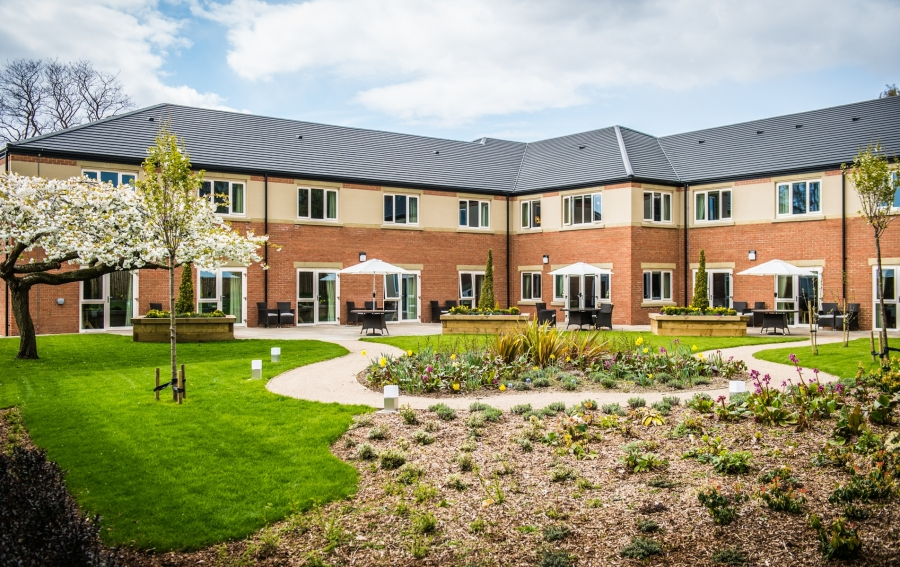 Augustus Court care home - built by Conroy Brook