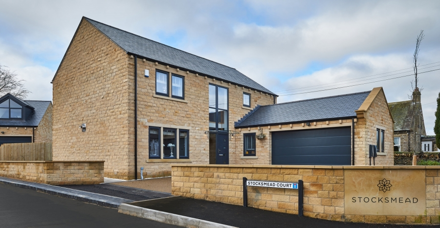 New home at Stockmead in Stocksmoor